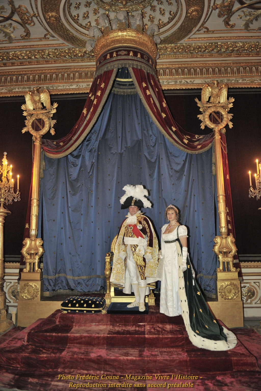 Salle du trone empire 1804 - Salle du trone versailles ...
